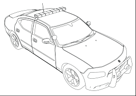 cars coloring pictures colouring pages police car printable