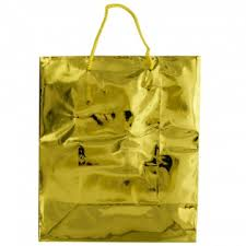 gold gift bags medium shiny gold gift bag