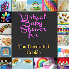 creative food rainbow pancakes and a virtual baby shower
