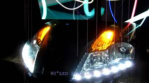 Nissan Altima Horsepower - nissan altima sedan custom headlight r8 led mod by zleds youtube