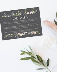 Hotel Inserts For Wedding Invitations Image Collections Party