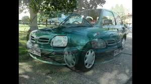 nissan micra road tax 2000 nissan micra green 1 0 petrol manual long tax and mot youtube