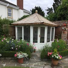 Garden Summer Houses Corner - a corner summerhouse the perfect solution chelsea summerhouses