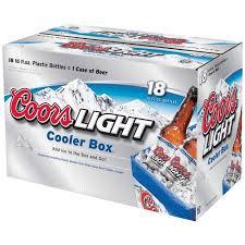 coors light 18 pack coors light beer 16 fl oz 18 pack walmart com