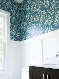 Wallpaper Powder Powder Room Wallpaper Powder Room With A Cool Wallpaper Pin It