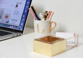 Lucite Desk Accessories Lucite Office Accessories Techieblogie Info