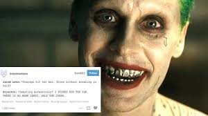 Jared Meme - jared leto s crazy joker is 2016 s best meme popbuzz