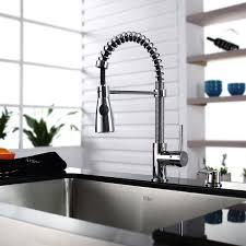 Kitchen Faucet Soap Dispenser Kraus Khf200 30 Kpf1612 Ksd30 30 Farmhouse Single Bowl Stainless