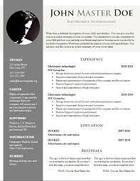 resume format doc resume template resume templates doc free career resume template