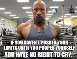 Exercise Meme - the rock exercise imgflip