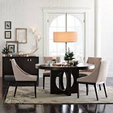 Upholstered Chairs Dining Room Curved Upholstered Dining Chair