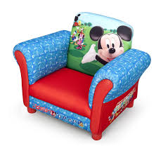 Upholstered Armchairs Uk Disney Children U0027s Mickey Mouse Upholstered Chair Amazon Co Uk Baby