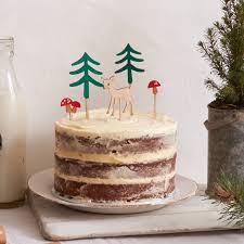 woodland cake toppers woodland cake toppers by lulubel notonthehighstreet