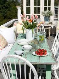 shabby chic patio furniture home decor ideas