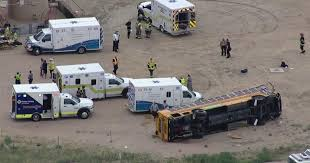 Colorado Travel By Bus images Police driver fell asleep before crashing into school bus 20 jpg
