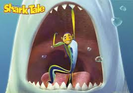 film kartun ikan hiu kutu buku ngomongin film shark tale
