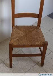chaise d église véritable chaise d église avec assise en paille a vendre 2ememain be