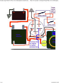 lawn mower ignition switch wiring diagram for new 94 for