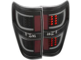 2010 ford taurus aftermarket tail lights 2009 2014 f150 anzo g2 led taillights black housing 311257