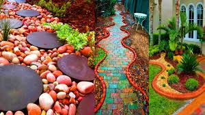 Diy Garden Ideas Ingenious And Creative Diy Garden Path Ideas Gardening Ideas
