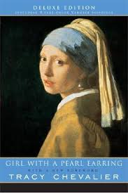 painting girl with a pearl earring girl with a pearl earring by tracy chevalier