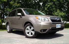 forester subaru suv review 2014 subaru forester 2 5i driving