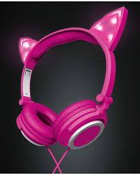 light up cat headphones memorial day shopping deals on polaroid pink light up led cat ear