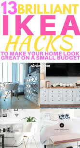 learn a few tricks from the new ikea catalog 13 diy ikea hacks to transform your furniture on a tiny budget