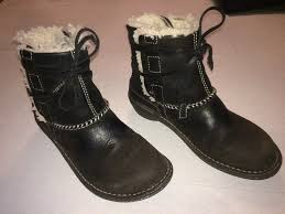 s ugg australia nubuck boots ugg australia nubuck shearling ankle boots sz 7 s n 5136 ebay