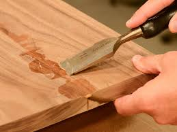 how to make a wood cutting board for your kitchen hgtv scrape off excess glue