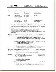 graphics programmer sample resume sample resume java programmer