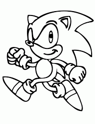 free printable sonic the hedgehog coloring pages h u0026 m coloring