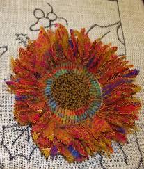 Sunflower Rugs Fanciful Flower Sampler Carpet Bag Red Jack Rugs