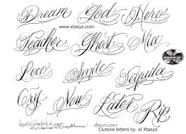 25 unique cursive tattoo letters ideas on pinterest polices de