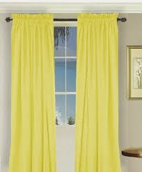 Mustard Colored Curtains Inspiration Bright Yellow Curtains Curtains Ideas