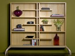 Wood Bookshelves Plans by Classic Contemporary Wooden Bookshelf Unit Design In Square Base