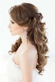 Hochsteckfrisurenen Offene Haare by Romantische Wellen Hochzeitsfrisur Halboffen Frisuren