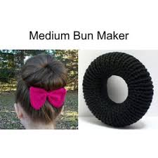 hair bun maker easy hair bun maker for ballet bun or bun