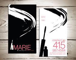 makeup business card psd template mugeek vidalondon