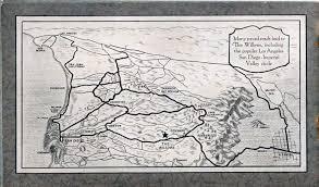 San Diego Casinos Map by 1920s Brochure Promotes Willows Resort On U S 80 Joyride Guru