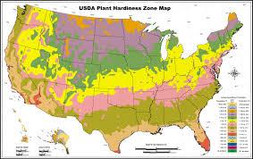 Zone Gardening - us weather zone map