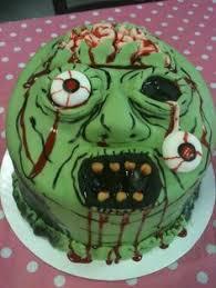 sweet 16 zombie apocalypse cake i made for amanda u0027s birthday