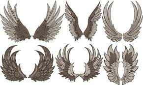 vintage wings vector free vector 7 228 free vector for