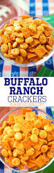 buffalo ranch crackers football friday plain chicken