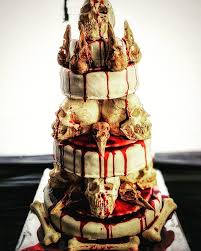 Rebel Flag Wedding Cakes Made A Skull Cake For Our Office Halloween Party Album On Imgur