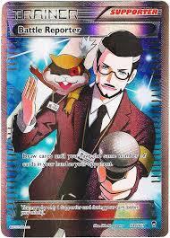 battle reporter 109 111 full art pokemon xy furious fists trainer