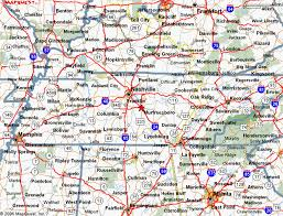 map ok ky rv cgrounds tennessee cgrounds and rv parks