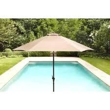 Brown Jordan Patio Set by Brown Jordan Greystone Form 9 Ft Patio Umbrella In Sparrow Stock