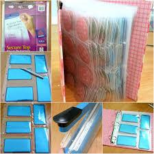 diy stamping plate storage binder nail art tips and tutorials