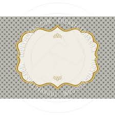 vector gold ornaments and frame by createfirst vectors eps